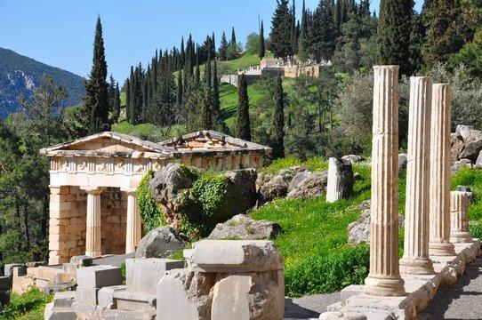 Trésor des athéniens - Delphes