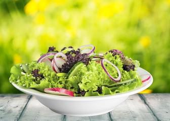 Wall Mural - Salad, food, bowl.