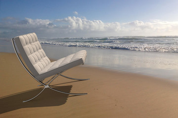 Chair at the sea