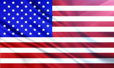 The National Flag illustration background