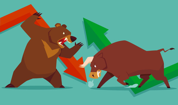stock market bull vs bear