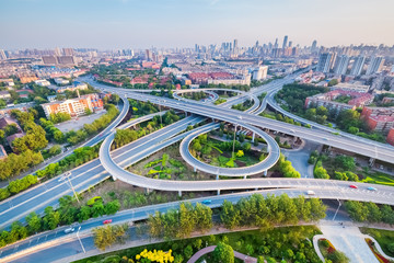 city interchange in tianjin
