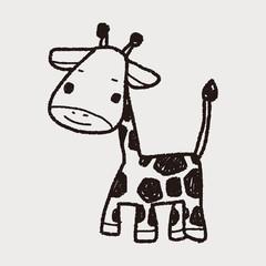 giraffe doodle