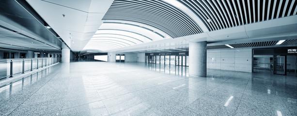 Empty floor in public building