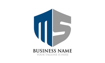 Simple MS Shield Logo