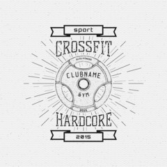 CrossFit badges logos and labels for any use