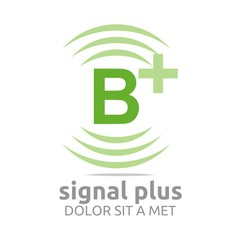 Logo Signal Plus Alphabet Wireless