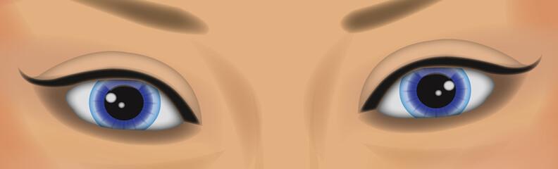 Visage:yeux