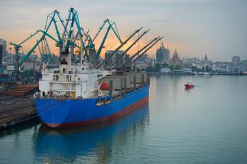 Cargo port, Georgia
