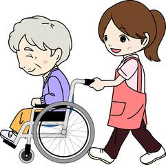 車椅子 介護 高齢者