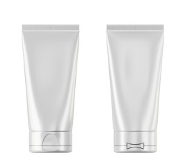 Plastic bottle with Aftershave with two sides