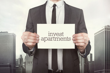 Invest apartments on paper