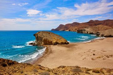 Wall Mural - Almeria Playa del Monsul beach at Cabo de Gata