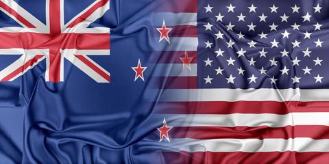 USA and New Zealand