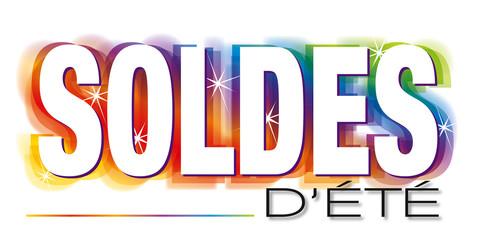 Photos illustrations et vid os de logo soldes - Solde d ete date ...
