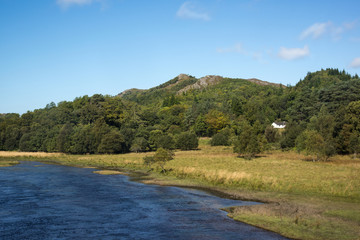 Torr nan Muc and the River Sheil, Scotland.