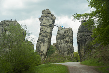 Externsteine Herford, Germany