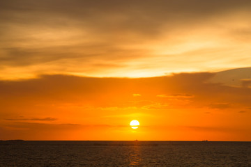 Stock Photo - sunset sky background