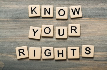 Your, know, rights.