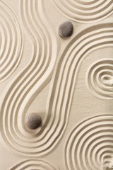 Wall Mural - Calm, calmness, pebble.