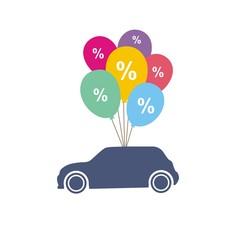Автомобиль на воздушных шариках