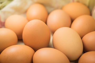 Eggs, Many eggs