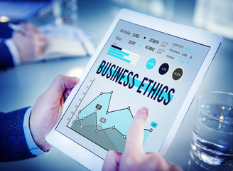 Business Ethics Manners Awareness Concept