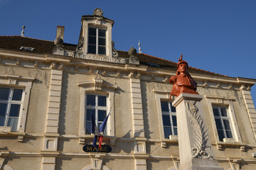 Bourgogne, the picturesque village of Rully in Saone et Loire