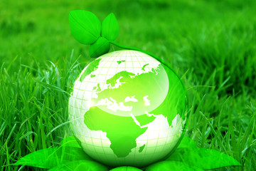 Green earth concept .