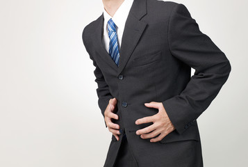 ビジネスイメージ ボディパーツ 腹痛