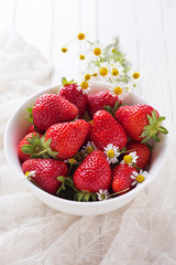 Summer strawberries