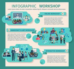 Workshop Infographics Set