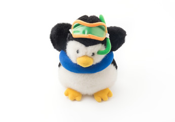 Penguin With Snorkel