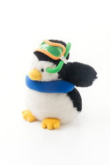 Penguin With Snorkel