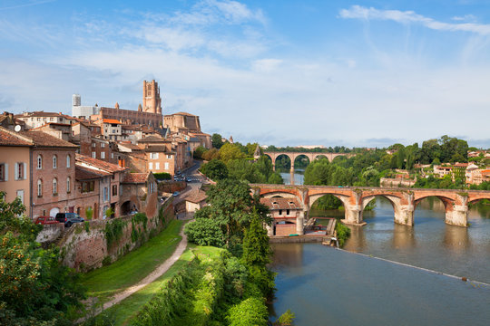 View of Albi, France