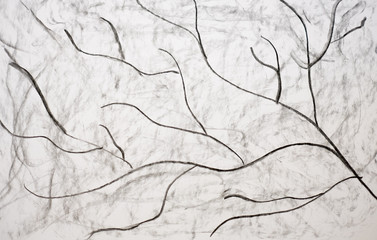 Charcoal abstract background or texture