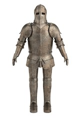 3d render of knights armor