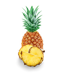 pineapple isolated