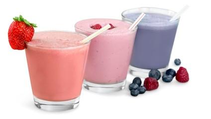 Smoothie, Milk Shake, Fruit.