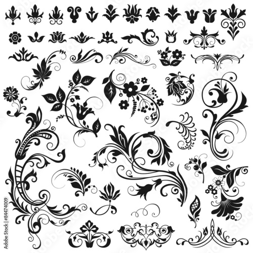"Vector graphic elements for design"" Stock image and royalty-free ..."