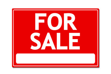 For Sale Vector Sign