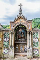 Monument et symboles religieux à Valfleury