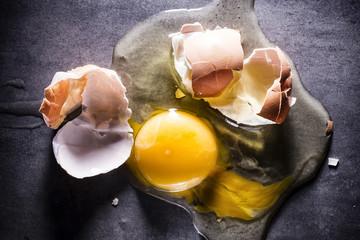Battered egg.