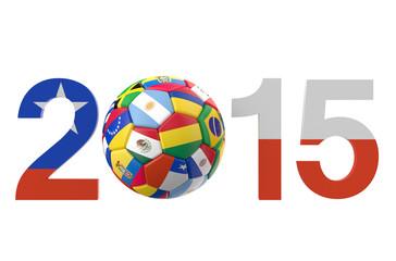 championship soccer Chile South America 2015
