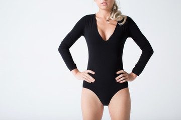 Beautiful body elegantly bodysuit