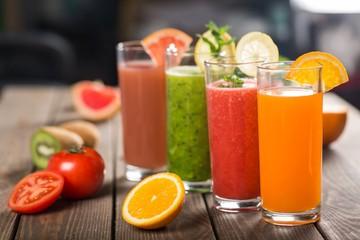 Fruit, glass, raw.