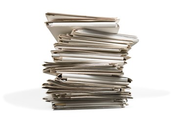 Stack, Paper, Document.