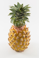 Fresh pine apple rich of vitamin and good for health in isolate