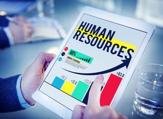 Human Resources Hiring Job Accupation Concept