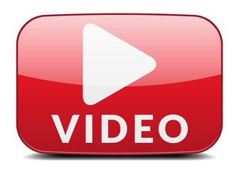 Roter Video Button
